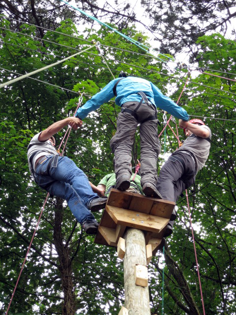 High Ropes Course Bristol The Adventurous Activity Company