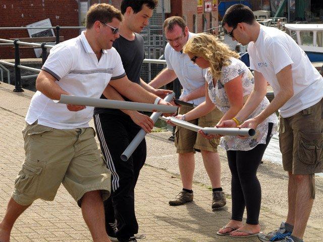 Team Building Games - The Adventurous Activity Company