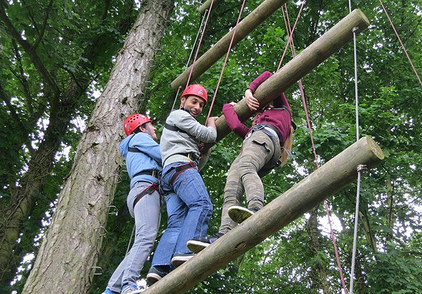 High Ropes Activities Course